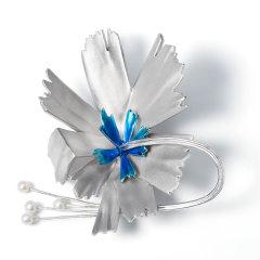 【预定】RUANS/阮仕G20胸针套装珍珠首饰 国花收藏版峰会礼品纪念品同款【周期30-40天】图片