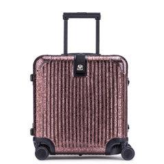 LIEMOCH/利马赫 其它材质不锈钢密码登机箱18寸 TSA海关锁行李旅行箱中性款式其他材质金属青年拉杆箱图片