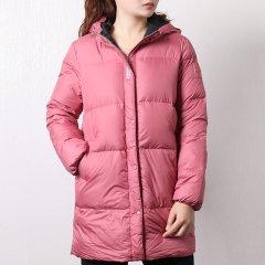 adidas/阿迪达斯女装 18冬季新款neo运动服休闲舒适连帽保暖中长款羽绒服外套 服装 DM4248 DM4249图片