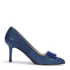 PACO GIL/PACO GIL 女士细高跟单鞋 时尚尖头通勤高跟鞋女细跟单鞋图片