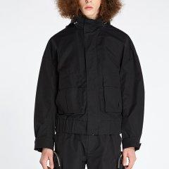 KKtP 外套 男士夹克 工装短外套 男式休闲夹克 黑色绿色时尚百搭外套图片