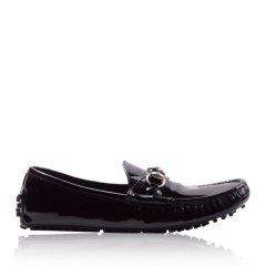 【奢品节可用券】GUCCI/古驰 女士漆皮乐福鞋豆豆鞋258200图片
