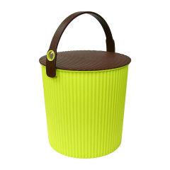 Omnioutil利快日本进口炫彩桶多功能收纳桶储物凳坐凳食品收纳   10升  (食品级材质)图片