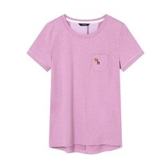 HAZZYS/哈吉斯 新款夏装T恤衫时尚简约女士短袖T恤ASTSE07BE17图片