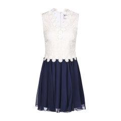 MaxMara/麦丝玛拉花朵蕾丝设计女士连衣裙图片