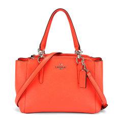 COACH/蔻驰  女款时尚小号手提单肩斜挎杀手包 57523 多色可选 橙红色图片