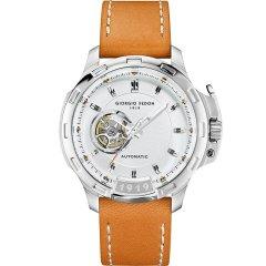【意大利品牌】乔治菲登GF1919手表大表盘自动机械时尚镂空夜光防水男士腕表图片