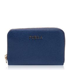 FURLA/芙拉紫红色牛皮材质金属logo装饰女士钥匙包,828818 LMP WOMAN KEYCASE图片
