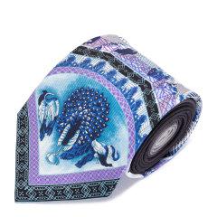 VERSACE/范思哲男士米色100%桑蚕丝领带图片