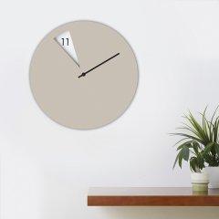 意大利SABRINA FOSSI DESIGN 客厅扇形小窗挂钟 北欧简约图片