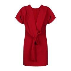 IRO/IRO聚酯纤维材质后背蝴蝶结装饰女士连衣裙图片