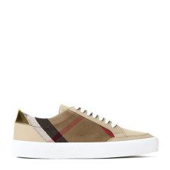 BURBERRY 博柏利 皮革/织物  Salmond 女士 休闲鞋图片