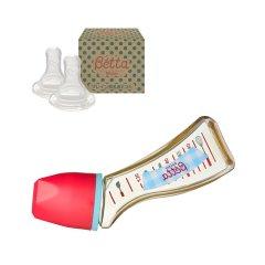 【包税】Betta/贝塔 宝宝钻石系列S3-Gingham奶瓶-PPSU-120ml 0-1/1-3/3-6/6个月以上适用 日本原装 温柔呵护图片