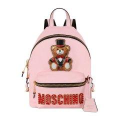 MOSCHINO/莫斯奇诺 女士礼帽泰迪熊魔术熊双肩包背包旅行包女包 多色可选图片