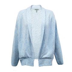 Theonne/Theonne长袖蓝色山羊绒披肩领女士针织衫/毛衣 CAS41142-HO1505图片