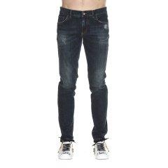 杜嘉班纳/Dolce&Gabbana 18年秋冬 男士 直筒裤 水洗 黑色 男士牛仔裤 GY07LD G8Z53 S9001图片