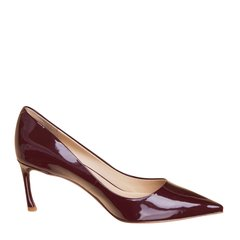 【买两双赠凉鞋】73hours/73hours 四叶草 女士漆皮高跟鞋单鞋图片