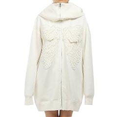 【DesignerWomenwear】taoraytaoray/taoraytaoray18秋冬新品女卫衣/拉链门襟卫衣/男女同款图片