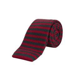 【19春夏新款】GUCCI/古驰羊毛材质男士红/绿色领带144*6*4cm