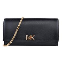 Michael Kors/迈克·科尔斯 女士 牛皮 MOTT系列 中号金色金属手拿包单肩包  30S8GOXC7L 可斜挎图片