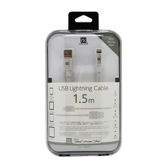 Power Support/Power Support 日本原装 iPhone ipad 手机 平板 1.5米铝合金接头数据线 充电线 苹果USB线图片