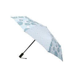 MARJA KURKI/玛丽亚古琦 简约夹花设计自动晴雨伞 超轻三折防紫外线女士自动伞遮阳伞图片