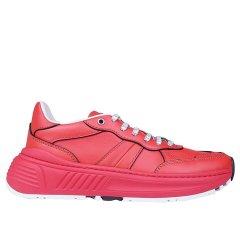 Bottega Veneta/葆蝶家 20年春夏 跑步鞋 女性 平底鞋  红色 女士休闲运动鞋 565655 VT040 6512图片