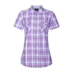 MARMOT/土拨鼠 2016女款户外透气超轻防晒速干短袖衬衫 58510图片