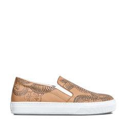 【17春夏新品】Tod's/托德斯女士休闲运动鞋Tod's Tattoo-Inspired 牛皮便鞋图片