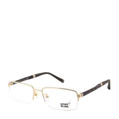MontBlanc/万宝龙 商务休闲男款近视镜眼镜框 半框金属板材光学眼镜架 MB450图片