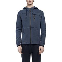美国HOTSUT男运动外套2017冬季新款连帽开衫拉链外套休闲舒适跑步图片
