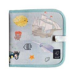Jaq Jaq Bird美国品牌便携空白画书带无尘粉笔  儿童旅行必备 环保无害图片