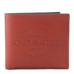 COACH/蔻驰男士Saffiano皮革短款钱包24647图片