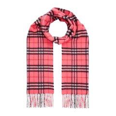 BURBERRY/博柏利 格纹霓彩系列羊绒经典中性款围巾#图片