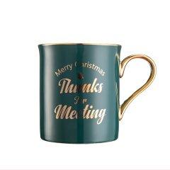 GeleiStory/GeleiStory圣诞节情侣马克杯骨瓷杯圣诞快乐限量发行29套伴手礼 送闺蜜 生日礼物  年货节 店铺特惠图片