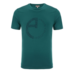 ARMANI COLLEZIONI/阿玛尼卡尔兹男士短袖T恤-男士T恤棉图片