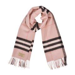 BURBERRY/博柏利  男士女士中性款多色经典格纹羊绒流苏装饰围巾/披肩#CA08图片