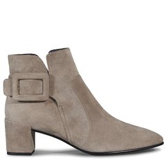 Roger Vivier/罗杰·维维亚女士 女鞋短靴Polly小山羊皮踝靴图片