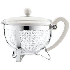 bodum波顿茶壶 香波系列进口玻璃茶壶 耐热家用过滤水壶大容量1000ml图片