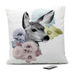 IMM Living[加拿大]优雅舒适生活动物抱枕套装(任意两件) 浅灰色 45*45cm图片