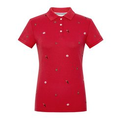 CREMIEUX/柯兰美 夏装新款T恤女夏短袖时尚欧美印花女士短POLO衫图片