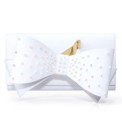 IAMNOT/IAMNOT【定制】牛皮女士原创Designer Bags蝴蝶结手拿包女包图片