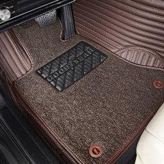 固特异 Goodyear 汽车脚垫全包围皮革丝圈双层 飞凡系列 专车定制厂家直发 三色可选图片