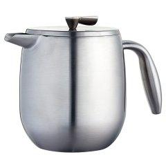 丹麦bodum波顿哥伦比亚系列法压壶 隔热双层不锈钢手压咖啡壶500ml图片
