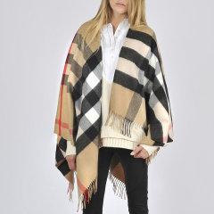 【新品】 BURBERRY/博柏利 女士 羊绒 披肩 卡其色 时尚 百搭 MF图片
