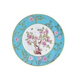 Miracle Dynasty/玛戈隆特 骨瓷 30.5CM香奈圆平盘 中国花园 展示盘果盘礼品包装图片