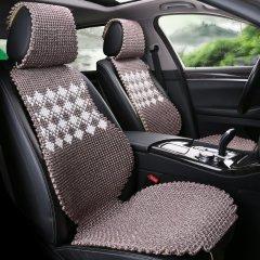 pinganzhe    汽车新款加厚手编汽车夏季冰丝凉垫 汽车夏季座垫 小蛮腰五件套座垫 十全十美图片