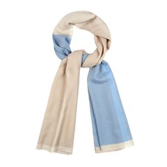 【奢品节可用券】shangxia/上下大方系列手织羊绒围巾图片