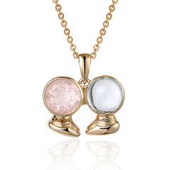 ENZO/ENZO 十二星座 彩宝 宝石 9K金 宝石吊坠(多款可选)图片