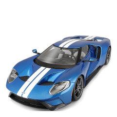 精装版1:18 福特GT 2017 Ford GT 合金福特超跑车模型收藏摆件可定制车牌图片
